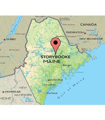 Camiseta Maine Map Storybrooke Vandal
