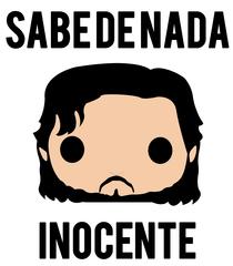 Camiseta Jon Snow Desenho Sabe De Nada Vandal