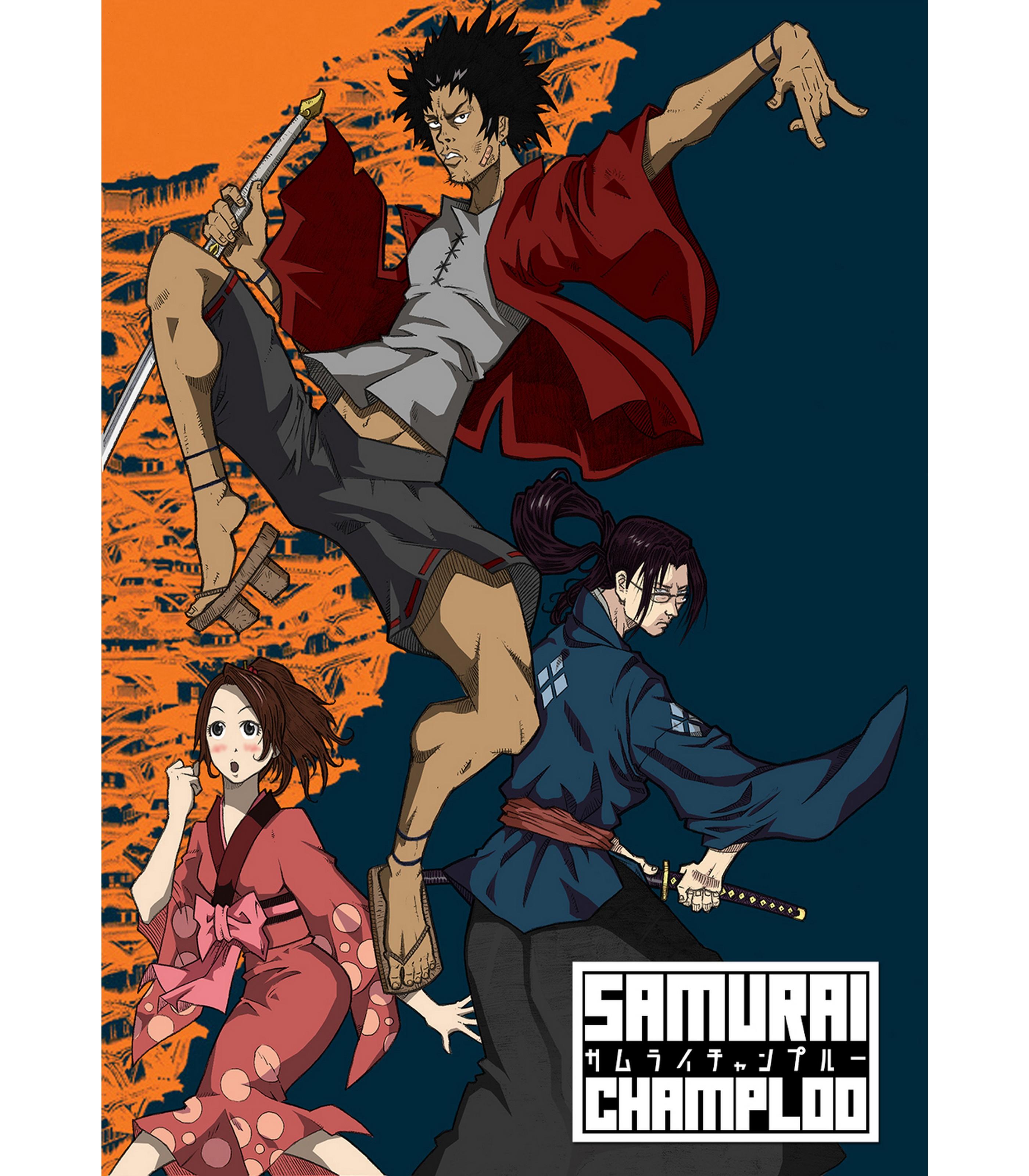 Camiseta Samurai Champloo Vandal