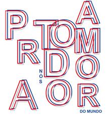 Camiseta PRA NÓS TODO AMOR DO MUNDO- LOS HERMANOS  d1bb19c4bfa15